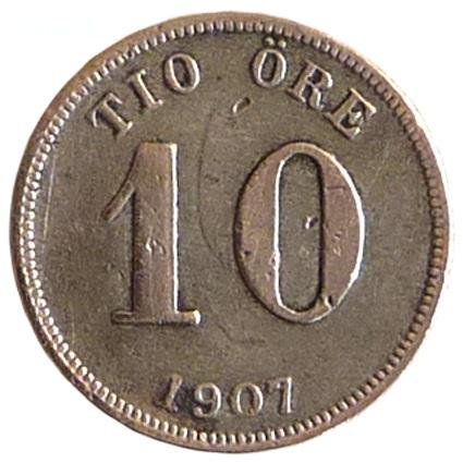 10 öre 1907