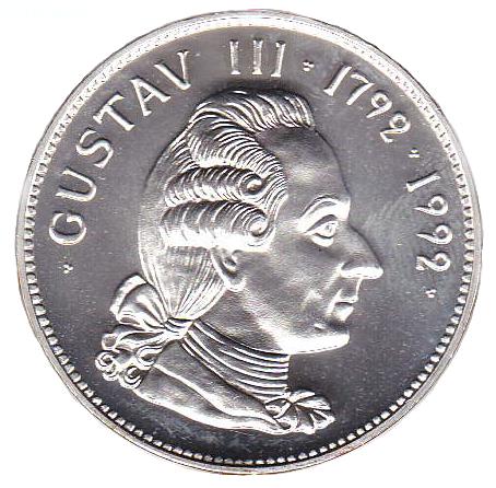 200-årsminnet av Gustav III:s död